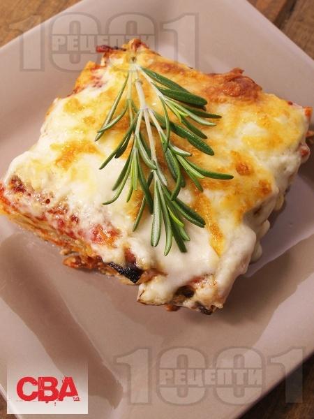 Лазаня с домати и сирене фета - снимка на рецептата